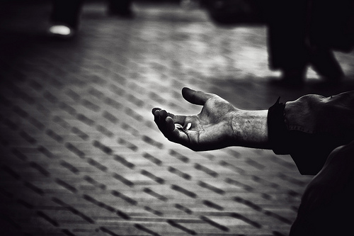 "Hamed Parham, ""Forgotten Hands"" (via flickr)"